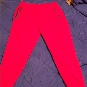 Red rue21 joggers